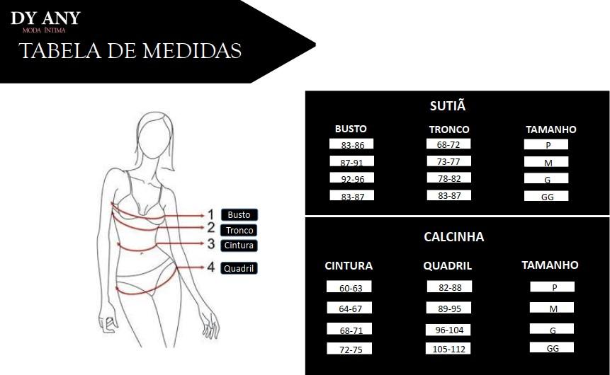 Medidas e Tamanhos